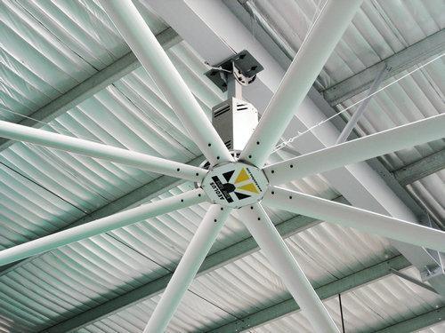 工业大风扇降温通风怎样才能效果更好呢?