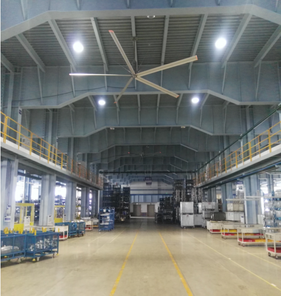 海南工业大风扇的优点有哪些呢?