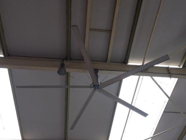 常熟海南工业大风扇安装工程
